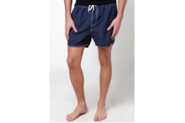 Native Youth NAVY SWIM SHORTS