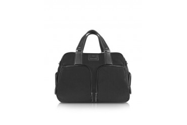 Pininfarina - Large Nylon and Leather Briefcase