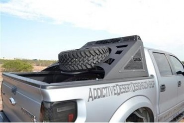 Addictive Desert Designs Stealth Fighter Chase Rack C011201100301 Truck Bed Rack