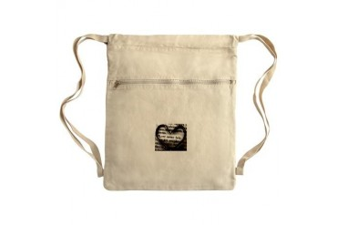 Love Never Fails. Sack Pack Love Cinch Sack by CafePress