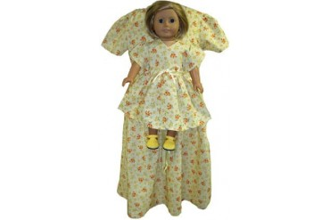 Matching Girl And Doll Clothes Size 4 Yellow Dress