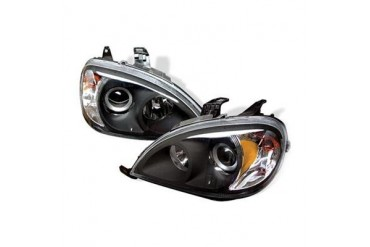 Spyder Auto Group Amber Projector Headlights 5021892 Headlight Replacement