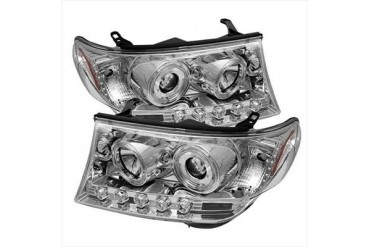 Spyder Auto Group Halo Projector Headlights 5008336 Headlight Replacement