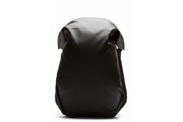 Cte And Ciel Black Coated Nile Rucksack