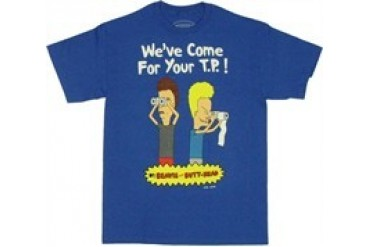 Beavis and Butthead We've Come for Your T.P. T-Shirt