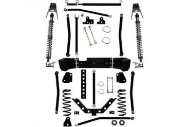 Rock Krawler 5.5 Inch X Factor Plus Comp Coil Over Long Arm Lift Kit JK9302 Complete Suspension Systems and Lift Kits