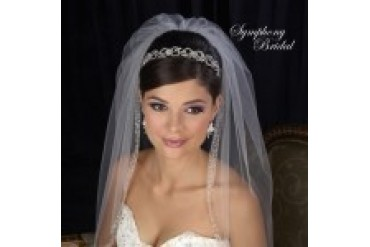 Symphony Bridal Crowns - Style 7409CR