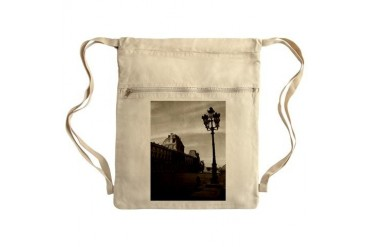 Paris Sack Pack Art Cinch Sack by CafePress