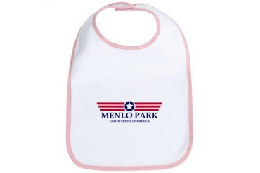 Menlo Park Pride California Bib by CafePress