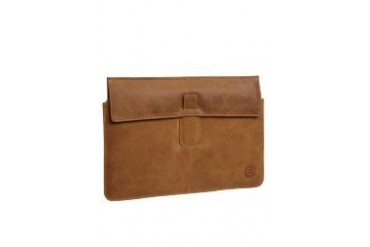 "Leather envelope for up to MacBook Pro 13"""" - Golden tan Case"