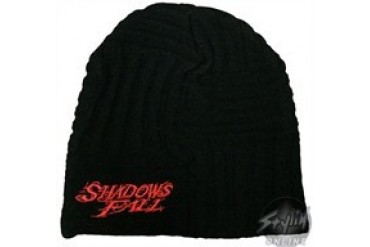 Shadows Fall Red Face Embroidered Beanie