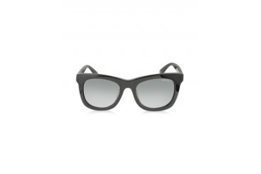 SASHA/S 807HD Black Square Frame Sunglasses with Silver Stars