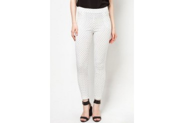 CLUB ZEN Polka Dotted Jeggings