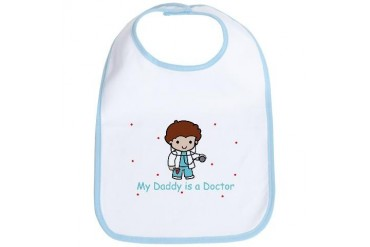 My Daddy is a Doctor Baby Cool Bib by CafePress