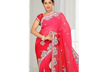 Fascinating Georgette Saree