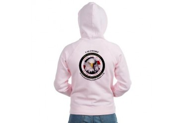 US Military Hall of Fame Military Women's Zip Hoodie by CafePress