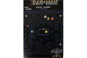 Pac Man Game Screen Postcards