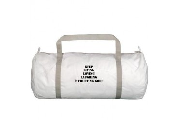 Love Gym Bag by CafePress