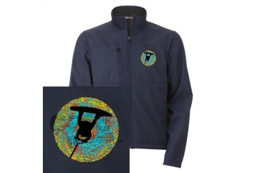 WAKEBOARD Music Men's Performance Jacket by CafePress