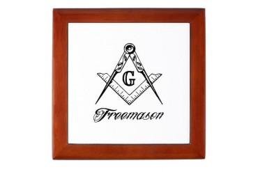 Freemason SC Freemasonry Keepsake Box by CafePress