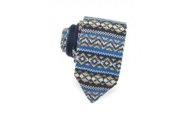 Pacific Northwest Wool Knit Narrow Tie