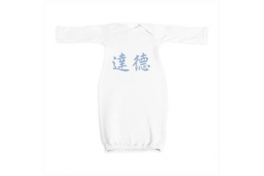Chinese Name - Dud Japan Baby Gown by CafePress