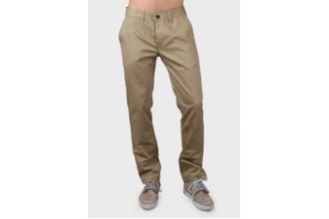 Travis Jeans & Co Travis Jeans Co Slim Fit Chinos Pants With Cotton Twill Khaki