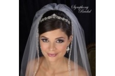 Symphony Bridal Crowns - Style 7415CR