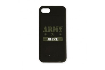 Army Niece Army iPhone Charger Case by CafePress