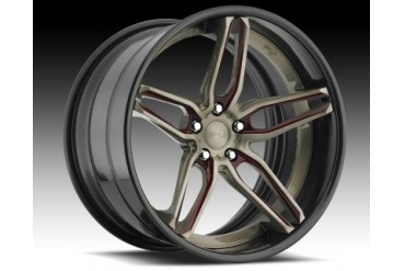 Niche Wheels 3-Piece Series A330 Spyder 24 Inch Wheel