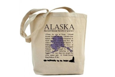 Alaska Gifts Alaska Tote Bag by CafePress