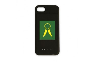 Durham and North Riding County Division iPhone Cha Army iPhone Charger Case by CafePress
