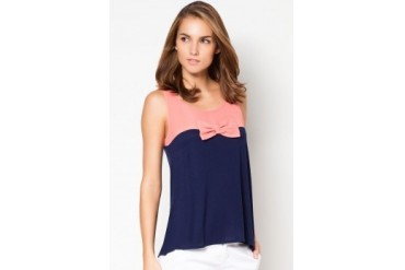 MANGO Bow Panel Top