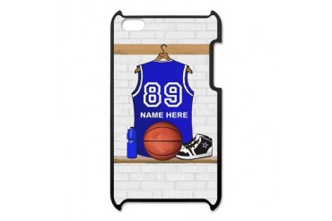 Personalized Basketball Jerse iPod Touch 4 Case