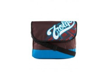 Tropicana Life Nylon Messenger Bag With Embroidered Design Cover Folder