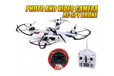 Prowler 4.5Ch 2.4GHz RC Camera Spy Drone