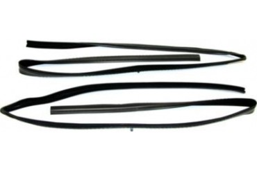 1989-1991 Chevrolet V2500 Suburban Weatherstrip Seal Fairchild Industries Chevrolet Weatherstrip Seal KG1009 89 90 91