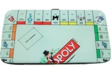 Hasbro Monopoly Board Clutch Wallet