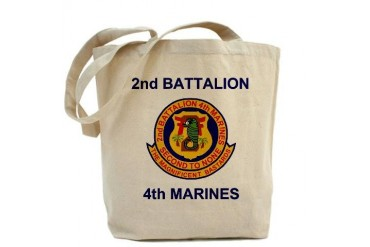 2nd Bn 4th Marines Email Tote Bag by CafePress