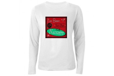 I've Been Naughty Vintage Women's Long Sleeve T-Shirt by CafePress