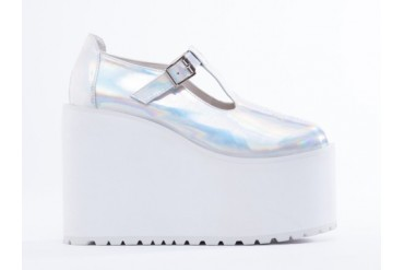 UNIF Mary Janes in Hologram size 11.0
