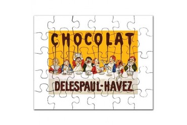 Delespaul-Havez Chocolate Kids Puzzle by CafePress