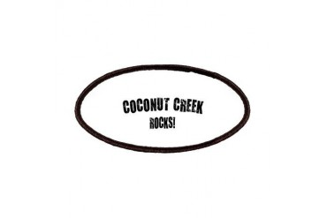 Coconut Creek Rocks Florida Patches by CafePress