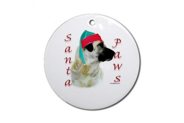 Anatolian Paws Ornament Round Pets Round Ornament by CafePress