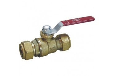 Mueller B amp K 107-023Nl Forged Brass Ball Valve Compression End