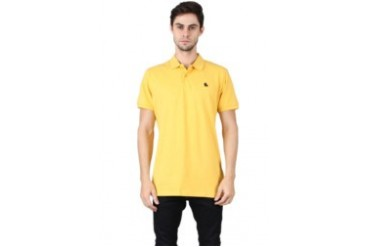 Jack & Jones Jack Jones Org Polo Yellow Polo Shirt
