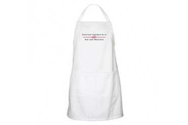 Less Resistance BBQ Internet Apron by CafePress
