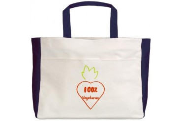 Funny Beach Tote by CafePress