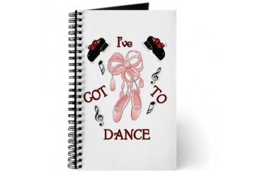 Got to Dance Music Journal by CafePress
