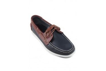 SCORPION Leather Casual Boat Shoes
